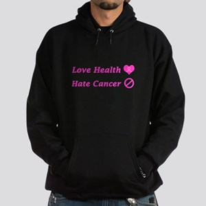 Love Health, Hate Cancer Charity Hoodie (dark)